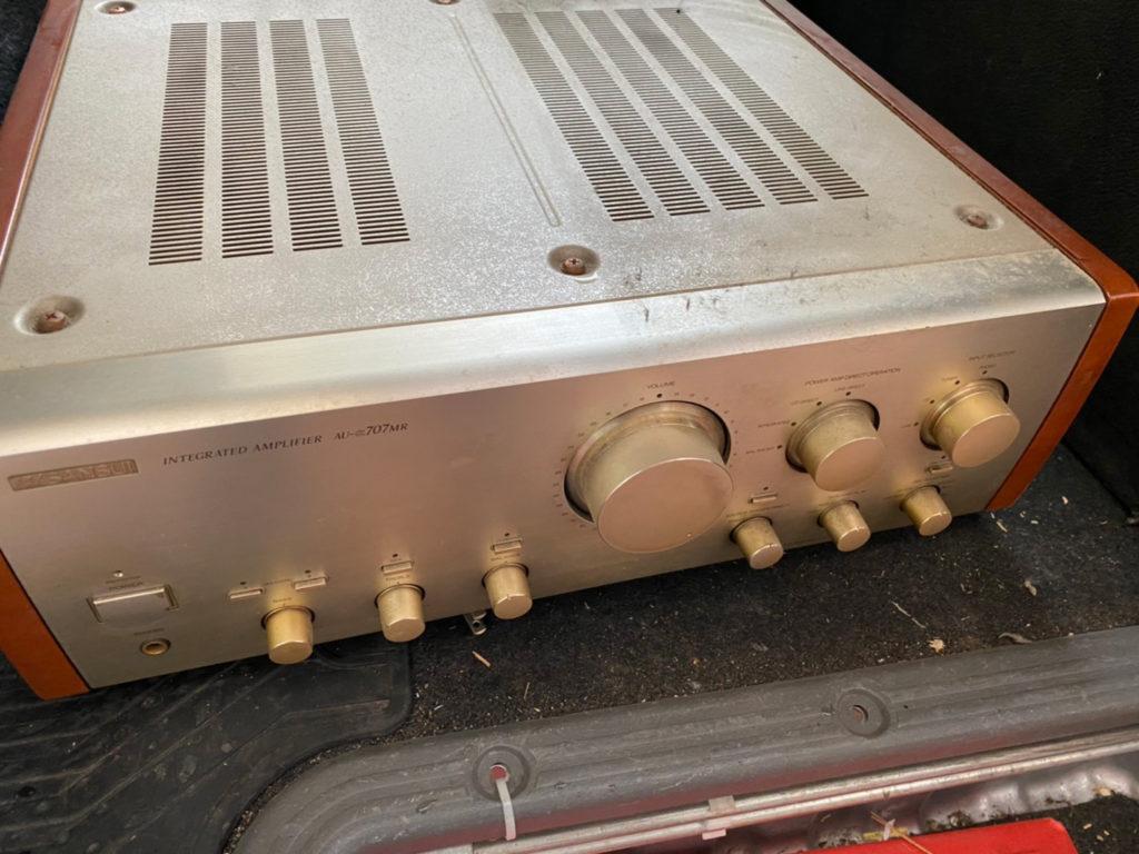 回収した音響機材